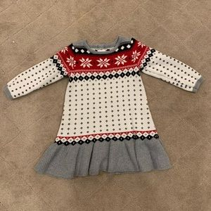 Cute girls sweater dress